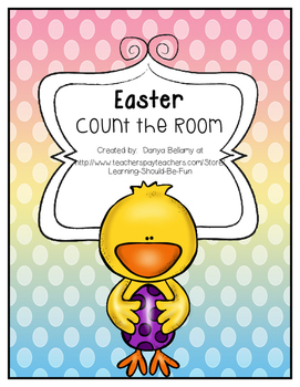 Easter Count the room: Numbers 9 - 20