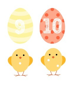 Easter Counting 1-10
