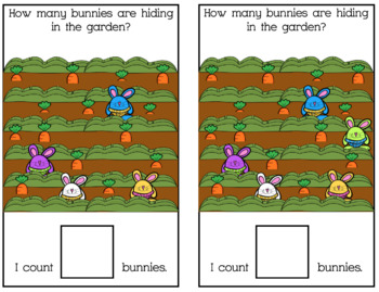 Easter Counting Adapted Book Bundle