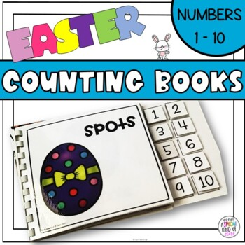 Easter Counting Adapted Books for Special Education