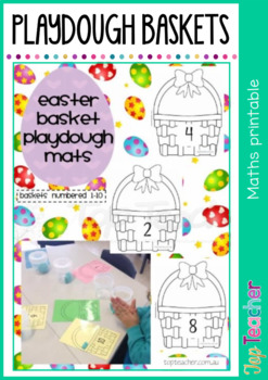 Easter Counting Baskets
