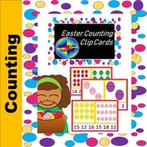 Easter Egg Count and Clip Cards 1-20