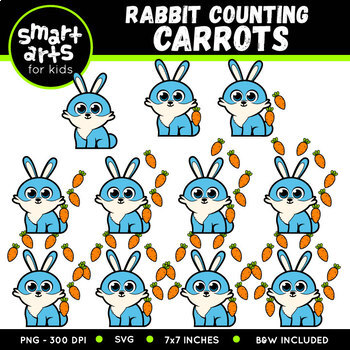 Easter Counting Clipart Bundle