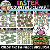 Easter Counting Clipart Bundle {Easter Clipart}