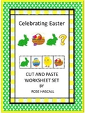 Easter Unit, Kindergarten Math and Literacy Worksheets Special Education Centers