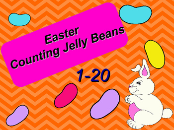 Easter Counting Jelly Beans