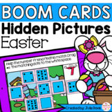 Easter Counting Math Centers | Digital Game Boom Cards