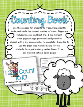 Easter Time Counting Pack