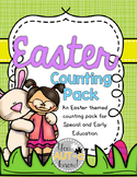 Easter Counting Pack 1-10