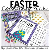 Easter Counting Pack - Hands on Counting Activities for Nu