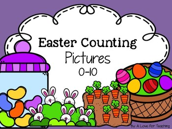 Easter Counting Pictures 0-10