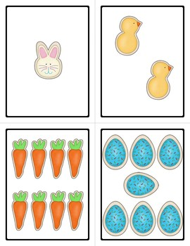 Easter Counting Task Cards