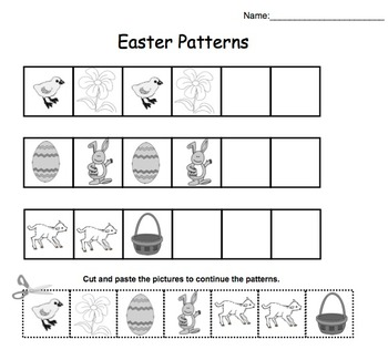 Easter Counting for Kinders (Smartboard Interactive File)