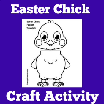 Easter Craft | Easter Craftivity | Easter Kindergarten | Easter Preschool