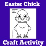 Easter Craft | Preschool Kindergarten 1st Grade | Chick Cr