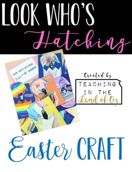 Easter Craft By Teaching In The Land Of Oz Teachers Pay Teachers