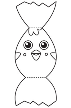 Easter Craft Activity - Make a Hatching Chick