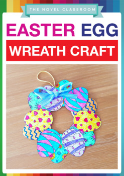 Easter Craft Activity - Make an Easter Egg Wreath