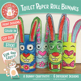 Craft Activity - Toilet Paper Roll Bunnies
