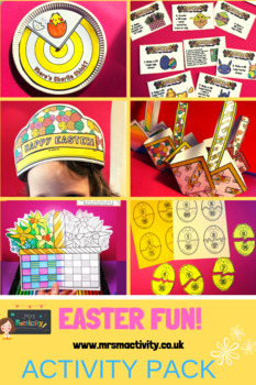 Easter Craft And Activity Resource Bundle