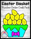 Easter Craft: Basket of Eggs (Spring, Number Order 1-10)