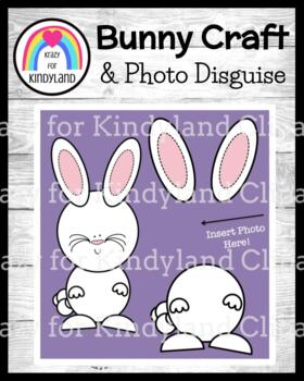 Easter Craft: Bunny Craft and Photo Disguise