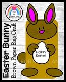 Easter Craft for Kindergarten: Bunny Rabbit Puppet (Spring)