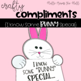 Easter Craft {Crafty Compliments April} Bunny Craft