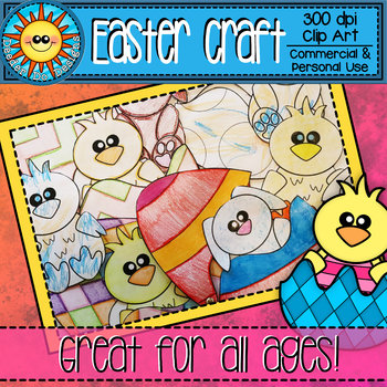 Easter Craft (Easy Printable)