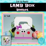 Easter Craft Spring Craft - Lamb Box Basket