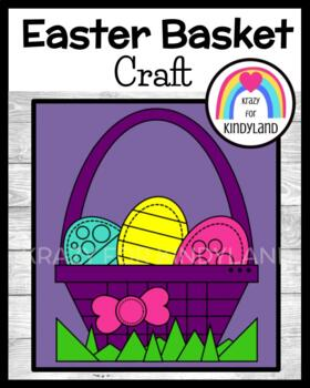 Easter Craft: Easter Eggs in a Basket