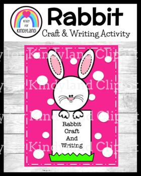 Easter Craft and Writing: Rabbit