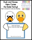 Easter Activity with Duck and Goose Craft, Writing: Here Comes the Easter Bunny!