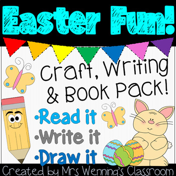 Easter Craftivity & Book Pack!