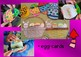 Easter Craftivity Egg Cards Flipbook and basket cards greetings writing Flipbook
