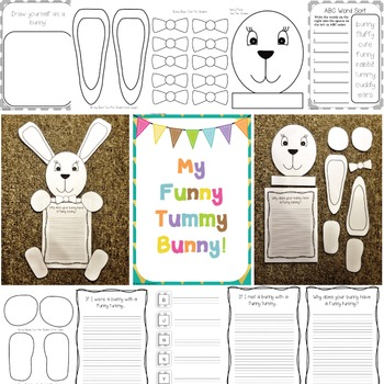 Bunny Easter Writing Craft | Fun and Engaging Craftivity f