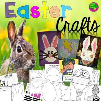 Easter Crafts By Classroom Base Camp Teachers Pay Teachers