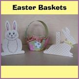 Easter Crafts - 3 Easter Baskets