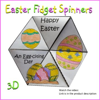 Easter Crafts - 3D Fidget Spinners