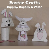 Easter Crafts - Bunnies (Hoppity, Hippity and Peter
