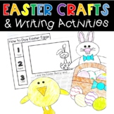 Easter Crafts and Writing Activities Easter Bunny Eggs Bas