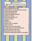 Easter Creative Thinking Packet