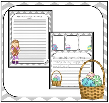 Easter Writing Packet for Creative Writers