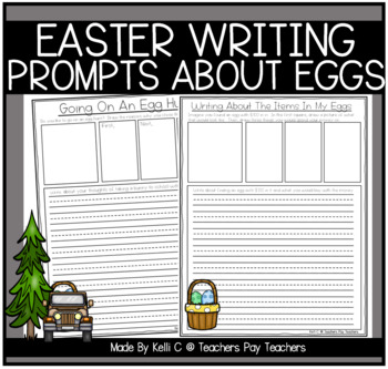 Easter Narrative Writing- How To Dye an Easter Egg