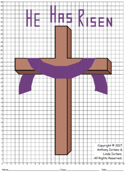 Easter Cross Mystery Picture
