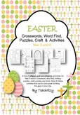 Easter Crosswords, Word Find, Puzzles, Craft  &  Activities Year 5 & 6