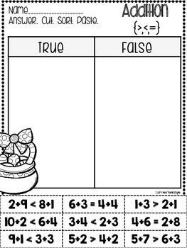 Easter Cut & Paste Printables plus I Have, Who Has {Addition & Subtraction}