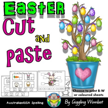 Easter Cut and Paste