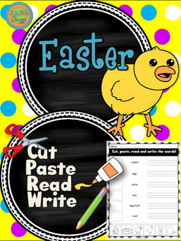 Easter - Cut and Paste