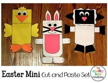 Easter Mini Cut and Paste Set
